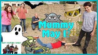 PLAYGROUND WARS! - Mother May I Halloween - Mummy May I / That YouTub3 Family I The Adventurers