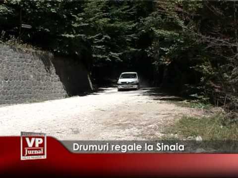 Drumuri regale la Sinaia