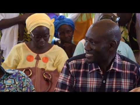 Les ouvrages hydro-agricoles dans le bassin arachidier au Sénégal - vidéo du project