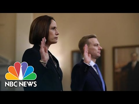 Highlights: Fiona Hill And David Holmes' Impeachment Hearing Testimony | NBC News