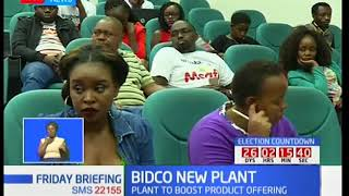 BIDCO Africa commissions a new two billion shillings detergent plant