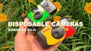 Kodak Vs Fuji Disposable Camera Challenge