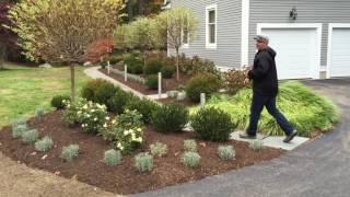 English Garden Renovation Sudbury Massachusetts
