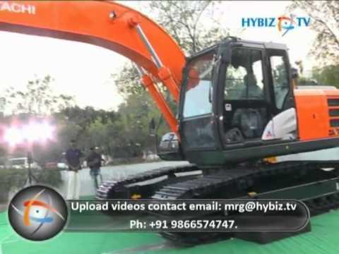 Tata Hitachi ZAXIS 220 LC - GI Series Hydraulic Excavator launch