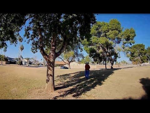 Gofly Scorpion 90HD - FPV Mid Morning Park Flight Stuck On Tree Branch