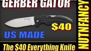 Gerber Gator: The $40 Do Everything Knife Draws Blood