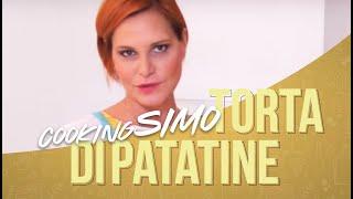 Simona Ventura In CookingSimo: Torta Di Patatine
