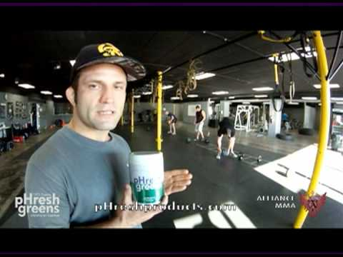 Eric Uresk Top Nutritionist of UFC MMA Fighters Testimonal about pHresh greens