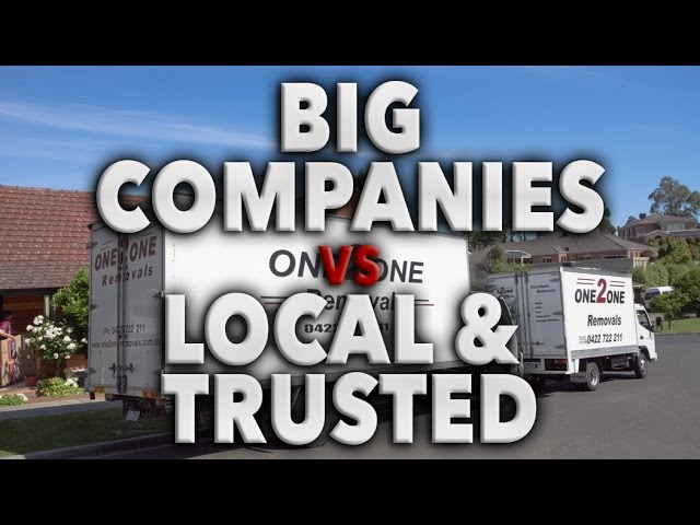 Big companies vs Local and trusted (why us)