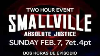preview picture of video 'Smallville 9x11-12 Absolute Justice trailer subtitulado'