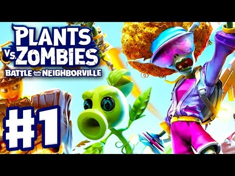 Plants vs. Zombies: Battle for Neighborville - Gameplay Part 1 - Intro and Turf Takeover! (PC)