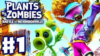 Plants Vs. Zombies: Battle For Neighborville   Gameplay Part 1   Intro And Turf Takeover! (PC)