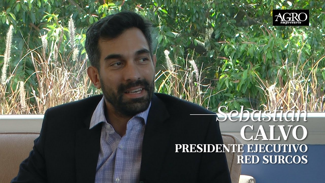Sebastián Calvo - Presidente Ejecutivo Red Surcos
