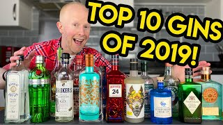 TOP 10 Gins Of 2019!