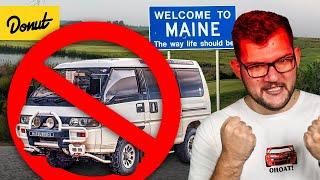 Why Maine Banned This 4x4 JDM Van