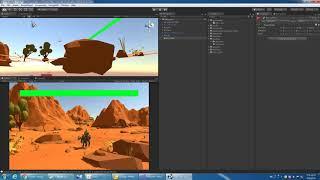 [KM Unity VR 教學] 05_HP & Start Menu 血條與遊戲起使介面設定
