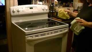 GE Stove Model JCBS630 Review Demonstration And Snack