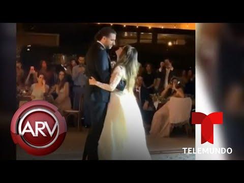 Dulce María se casó con Paco Álvarez durante una boda de ensueño | Al Rojo Vivo | Telemundo