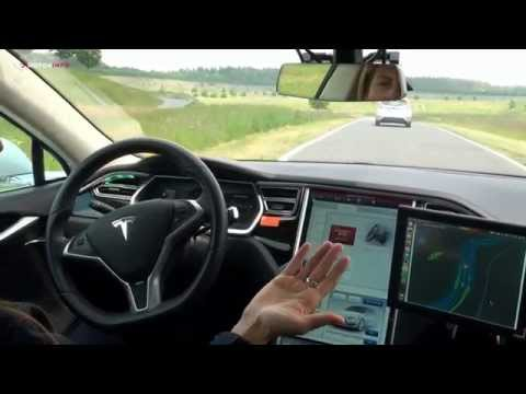 Tesla Model S - Bosch Automated Driving