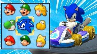 Playable Sonic In Mario Kart 8 Deluxe