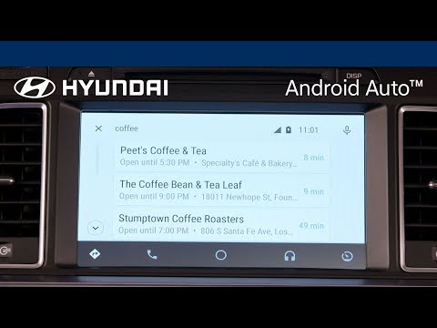 Android Auto: Searching for POI