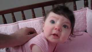 Everly Thomas Waking Up At 6 Months Old. Feb 6th, 2015
