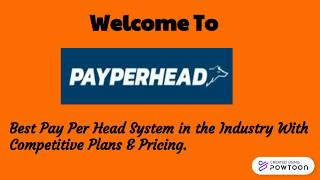 Visit PayPerHead, For Bookie Website