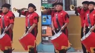 "Marcha 13 ""Marinos"" Banda de Guerra Cobras CTM."
