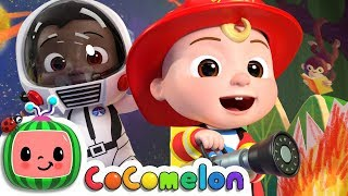 Jobs and Career Song | CoCoMelon Nursery Rhymes & Kids Songs