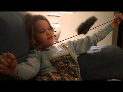 Screenshot of video: Sensory issues described by a 9yr old girl with Aspergers.