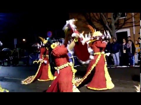 CARNAVAL DE CORIA 2016,PRIMER DESFILE