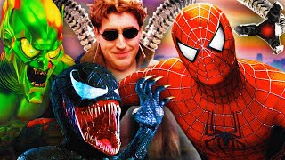 FIRST TIME WATCHING *SPIDER-MAN* TRILOGY SINCE WE WERE KIDS (REACTIONS)