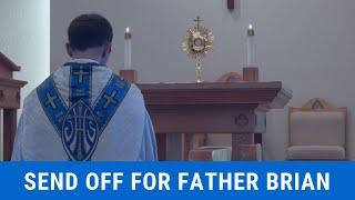 Send Off For Father Brian thumbnail