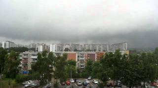 preview picture of video 'zawada elblag przed burza'