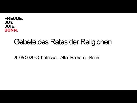 Rat der Religionen - Gebete in Zeiten der Pandemie