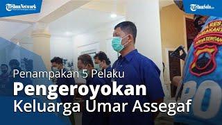 Tampang 5 Pelaku Pengeroyokan Keluarga Umar Assegaf di Pasar Kliwon Solo, Diancam 12 Tahun Penjara