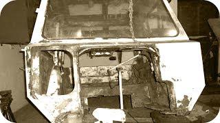 Ремонт кабины трактора МТЗ. Начало...