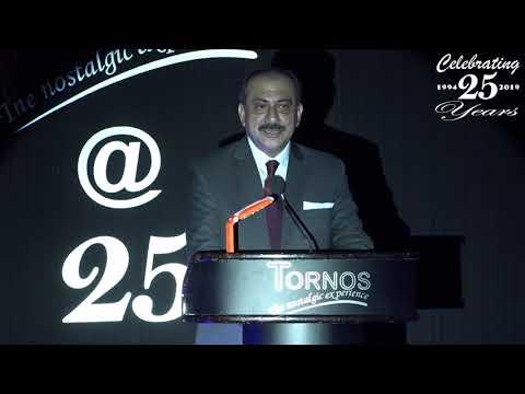 Silver Jubilee Speech by Prateek Hira