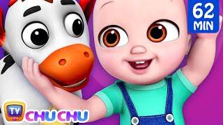 Baby Goes To Old MacDonald's Farm + More ChuChu TV Baby Nursery Rhymes & Kids Songs