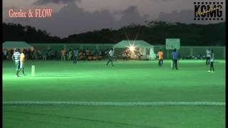 Highlights from cricket game between Grenlec and Flow