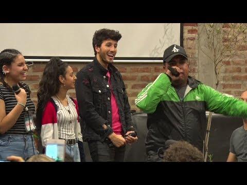 Sebastián Yatra video Yatra de visita en Scholas Argentina - Buenos Aires 2019