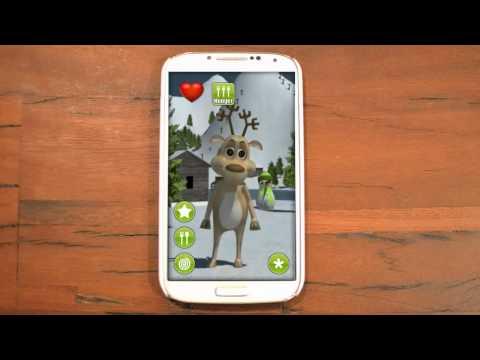 Video of Talking Prancer Reindeer