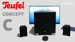 Teufel Concept C Monitor-Lautsprecher im Review