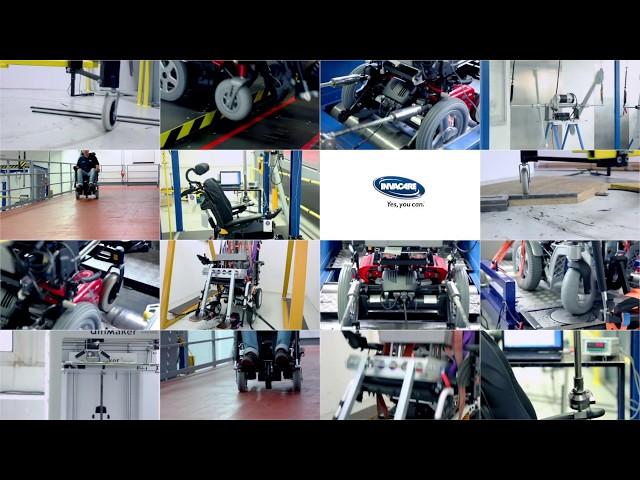 Invacare Pronto M41 Modulite Power Chair Video