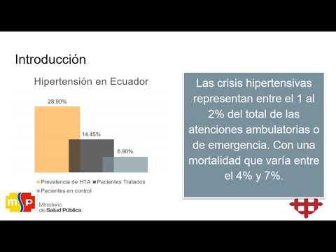 Atención de emergencia para crisis hipertensiva tácticas paramédico