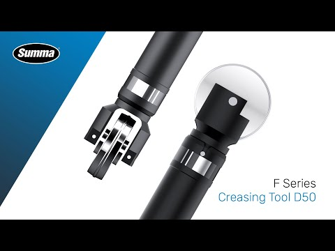 F Series Creasing Tool D50 for high-end creasing of thick cardboard