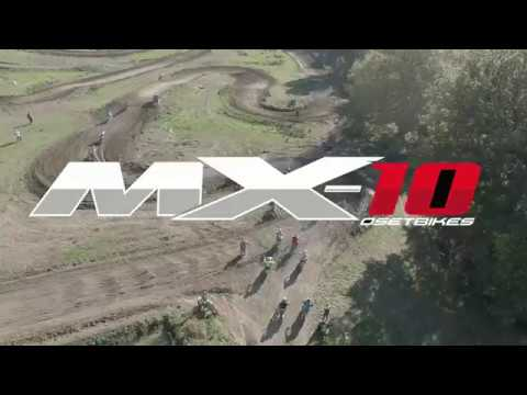 OSET MX-10 motocross mini bike flies!