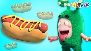 Oddbods | HOT DOG | The Oddbods Show | Funny Cartoons For Children