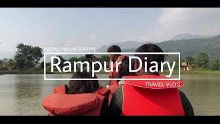 preview picture of video 'Rampur Diary-A trip to Rampur || Travel Vlog || NEPALI WANDERER'