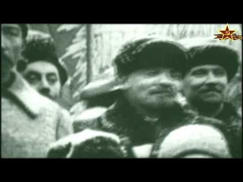 7 ноября 1919г. Первый парад РККА в честь Октября. видео